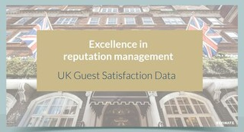 UK Guest Satisfaction Data Revinate