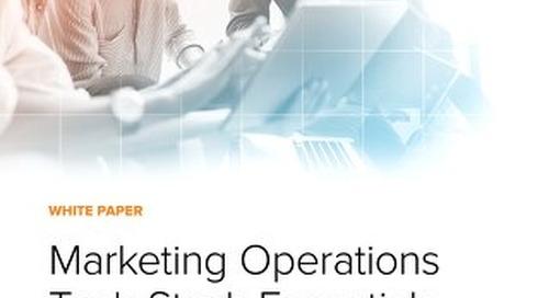 Marketing Operations Tech Stack Essentials
