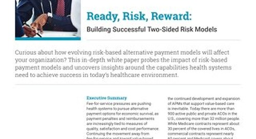 Building Successful Two-Sided Risk Models