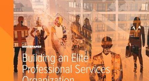 Building an Elite Professional Services Team