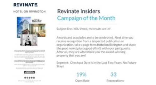 October Campaign of the Month