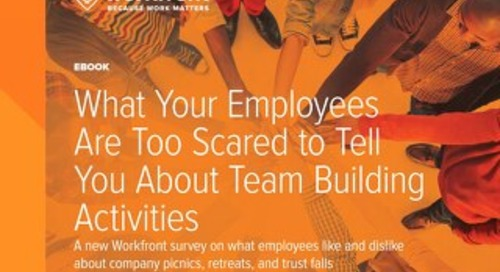 Survey: What Your Employees Are Too Scared to Tell You About Team Building Activities