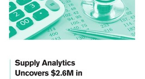 Supply Analytics Uncovers $2.6M in Savings at Cape Fear Valley Medical Center