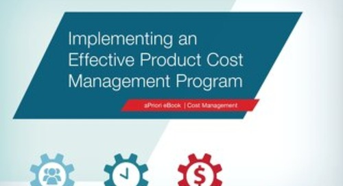 Effective Cost Management Strategy eBook