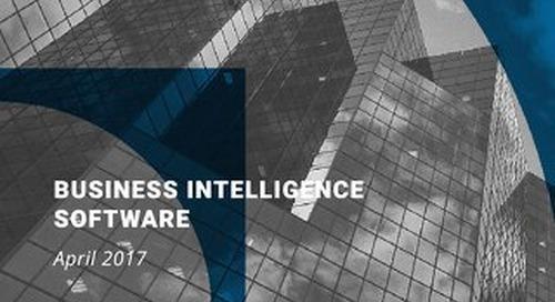 FrontRunners for BI Report April 2017 - Gartner Software Advice