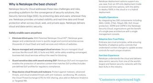 Netskope Cloud Security Platform