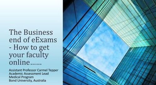 The Business End of eExams