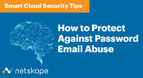 Smart Cloud Security: How to Protect Against Password Email Abuse