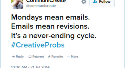 Creative Project Management: 2 Ways to Cut the Creative Revision Process in Half